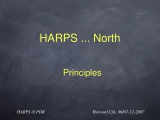 HARPS ... North