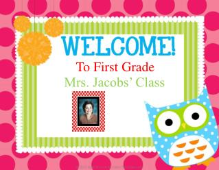 To First Grade