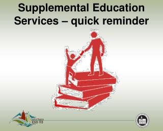 Supplemental Education Services – quick reminder
