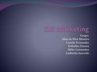 SIG Marketing