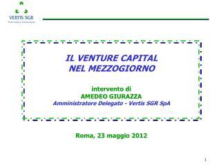 Roma, 23 maggio 2012