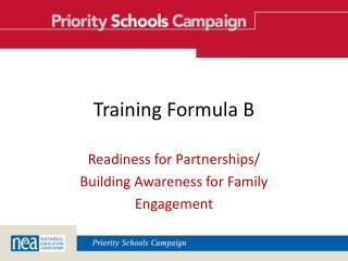 Training Formula B