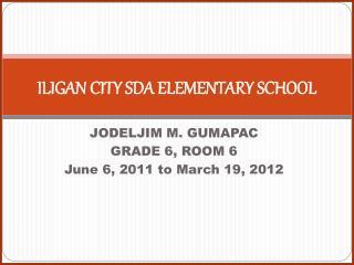 ILIGAN CITY SDA ELEMENTARY SCHOOL