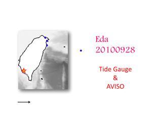 Eda 20100928 Tide Gauge & AVISO