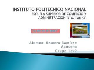 INSTITUTO POLITECNICO NACIONAL Escuela Superior De Comercio Y Administraci�n  �Sto. Tomas�
