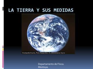 LA TIERRA Y SUS MEDIDAS