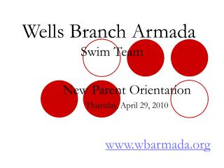 Wells Branch Armada  Swim Team