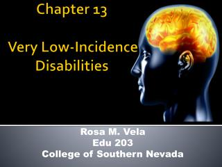 Chapter 13  Very Low-Incidence Disabilities