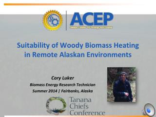 Suitability of Woody Biomass Heating in  Remote Alaskan Environments