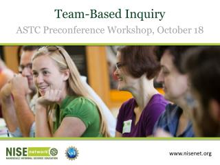 Team-Based Inquiry ASTC Preconference Workshop, October 18