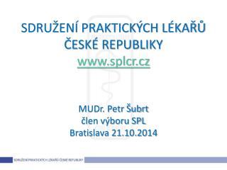 Jednání SPL ČR s institucemi