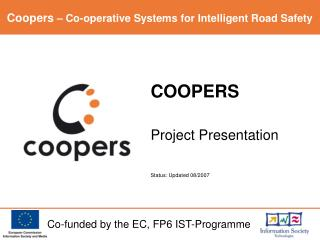 COOPERS Project Presentation Status: Updated 08/2007