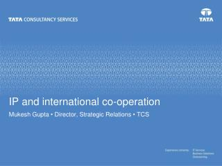 IP and international co-operation