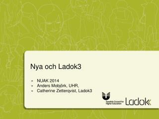 Nya och Ladok3