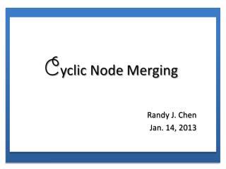 Randy J. Chen Jan. 14, 2013