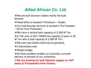 Allied African Co. Ltd.