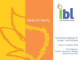 Ideas for liberty