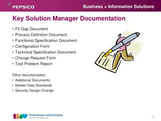 Key Solution Manager Documentation