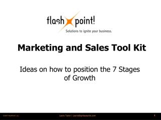 Marketing and Sales Tool Kit