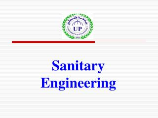 Sanitary Engineering