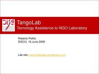 Perch� un nuovo laboratorio?