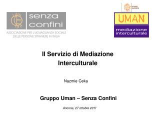 Il Servizio di Mediazione Interculturale