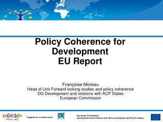 Policy Coherence for Development EU Report