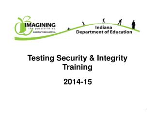 Testing Security & Integrity Training