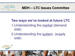 MDH -- LTC Issues Committee