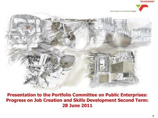 Presentation to the Portfolio Committee on Public Enterprises: