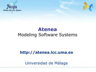Atenea Modeling Software Systems