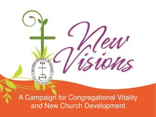 A Campaign for Congregational Vitality and New Church Development