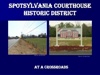 Spotsylvania Courthouse Historic District