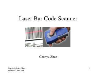 Laser Bar Code Scanner