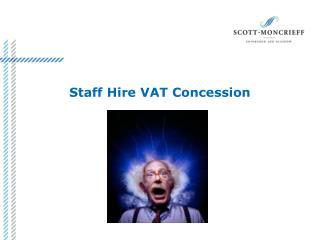 Staff Hire VAT Concession