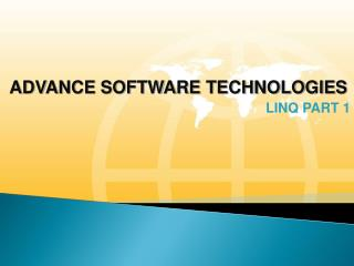 ADVANCE SOFTWARE TECHNOLOGIES