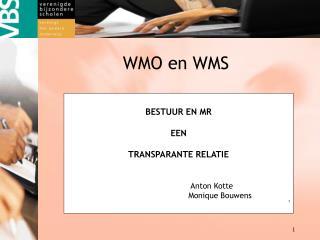 WMO en WMS