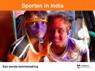 Sporten in India