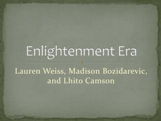 Enlightenment Era