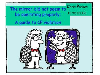 The mirror did not seem to be operating properly: A guide to CP violation