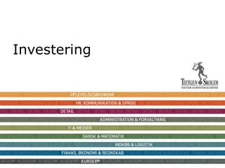 Investering