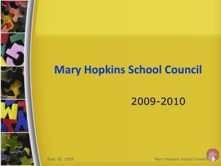Mary Hopkins School Council