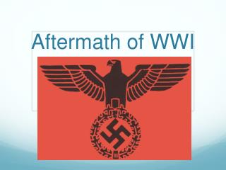 Aftermath of WWI