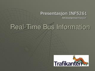 Real-Time Bus Information