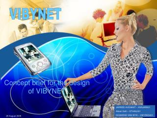 Concept brief for the design of VIBYNET