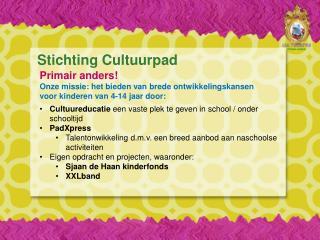 Stichting  Cultuurpad