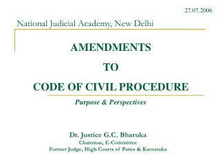 National Judicial Academy, New Delhi