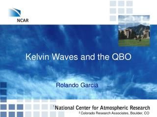 Kelvin Waves and the QBO