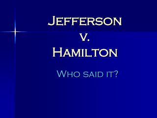 Jefferson  v.  Hamilton