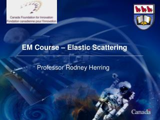 Elastic Scattering - Introduction